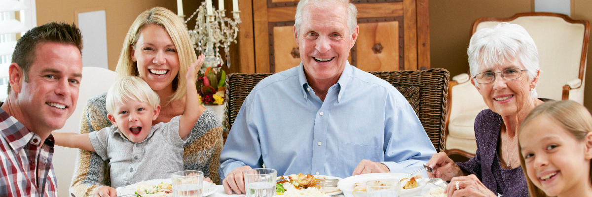Toddlers at the table: making holiday meals less stressful