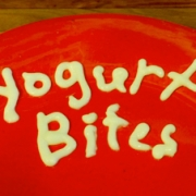 Frozen Yogurt Alphabet Bites
