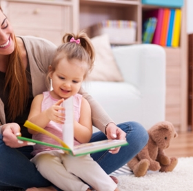 AAP Encourages Parents To Read To Their Children From Infancy