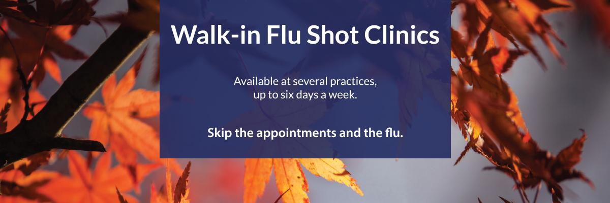 2017 Walk-in Flu Shot Clinics