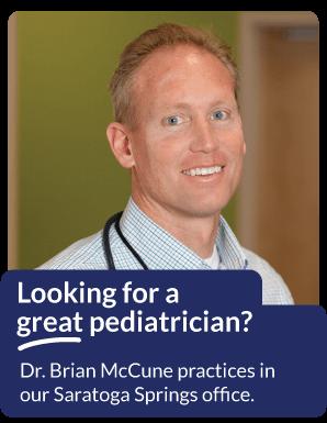Dr. Brian C. McCune of Saratoga Springs