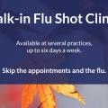 2018 Walk-in Flu Shot Clinics