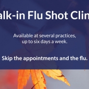 2018 Walk-in Flu Shot Clinics