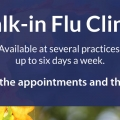 2019 Walk-in Flu Shot Clinics