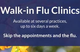 2019 Walk-in Flu Shot Clinics