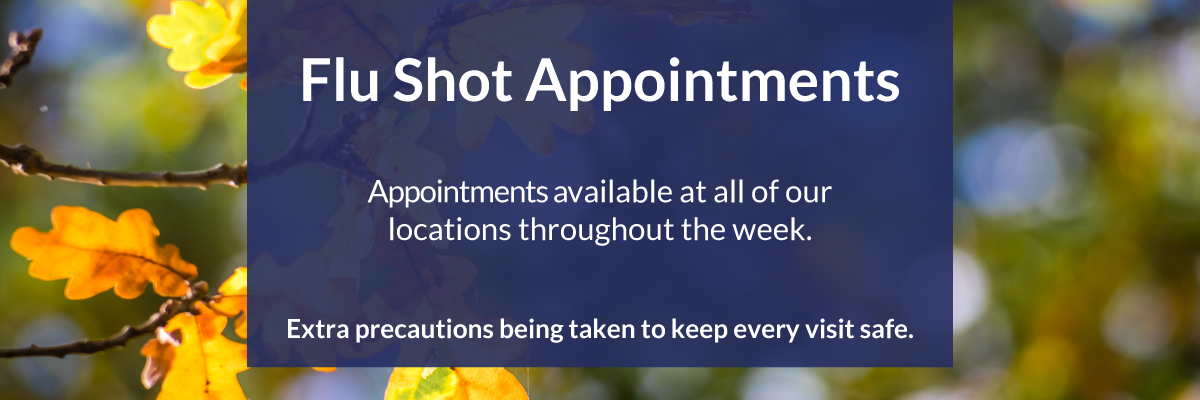 2020 Flu Shot Appointments